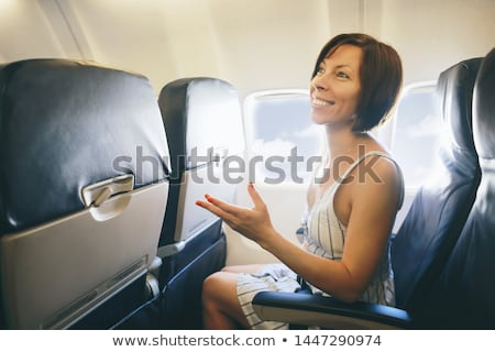 Woman talking to stewardess Stock photo © IS2