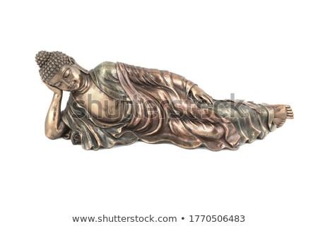 cara · pedra · buda · estátua · olhos - foto stock © jiaking1