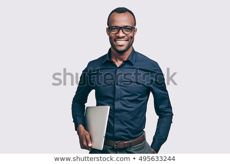 smiling african man stock photo © fouroaks