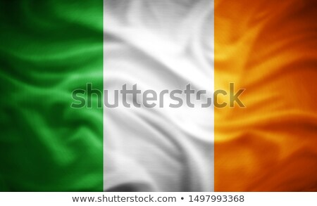 irish · Flagge · blauer · Himmel - stock foto © romvo