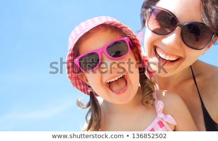 jó · gyereknevelés · szeretet · absztrakt · gyermek · anya - stock fotó © boggy
