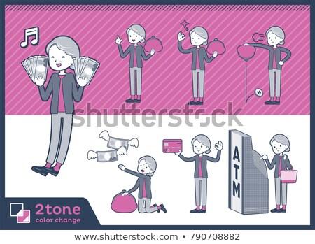2tone type grandmother_set 11 stock photo © toyotoyo