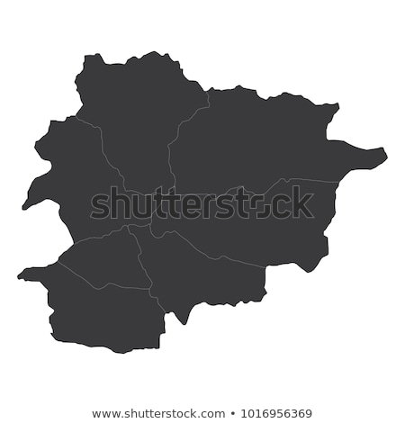 Andorra vetor mapa logotipo ícone símbolo Foto stock © blaskorizov
