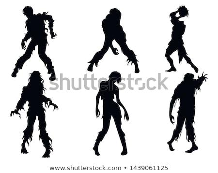 женщины зомби характер иллюстрация моде искусства Сток-фото © bluering