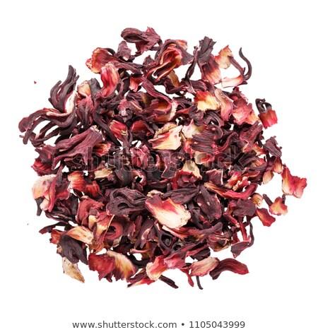 Kurutulmuş çiçek kırmızı meyve çay Stok fotoğraf © galitskaya