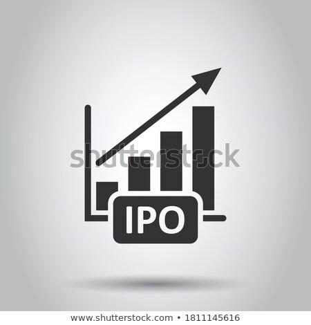 Ipo Icon Stock photo © angelp