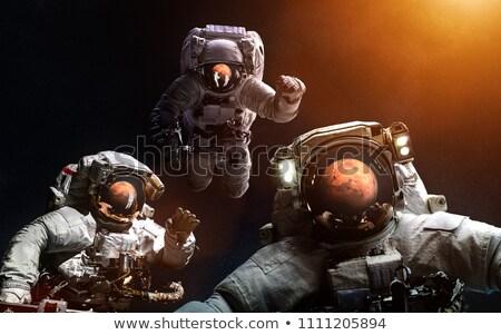 три темно пространстве иллюстрация текстуры природы Сток-фото © colematt