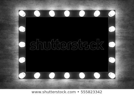 Make-up spiegel realistisch retro vintage Stockfoto © netkov1