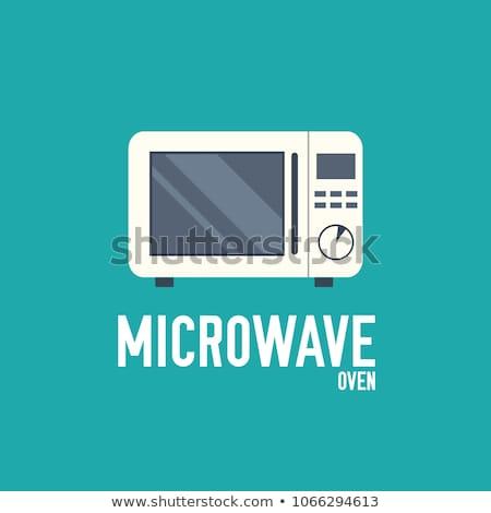 Cerrado horno temporizador icono vector Foto stock © pikepicture