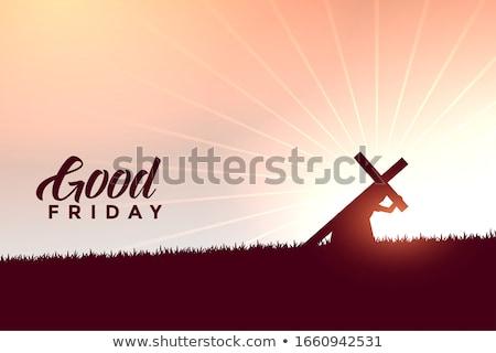 İsa Mesih çapraz iyi Stok fotoğraf © SArts