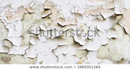 Muur Blauw verf scheuren oude textuur Stockfoto © boggy