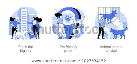動物 制御 サービス 抽象的な 人口 救助 ストックフォト © RAStudio
