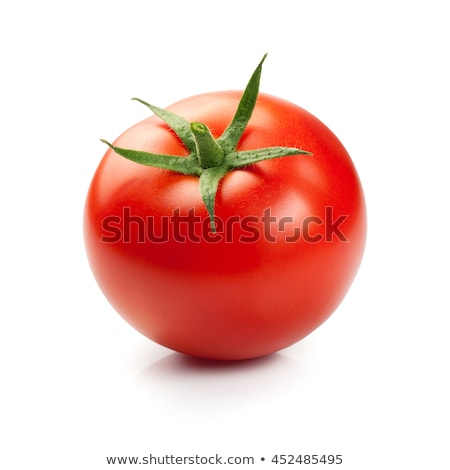maduro · vermelho · tomates · isolado · branco - foto stock © boroda