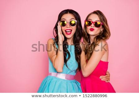 Chic, flirty and sunglasses Stock photo © photosebia