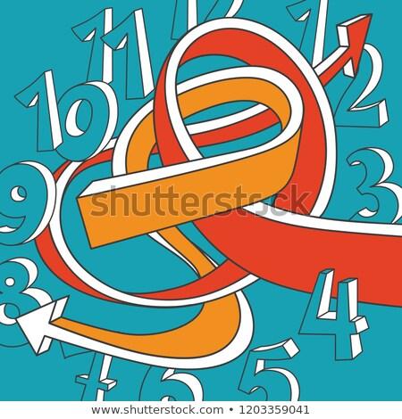 crazy 3d arrows stock photo © cteconsulting