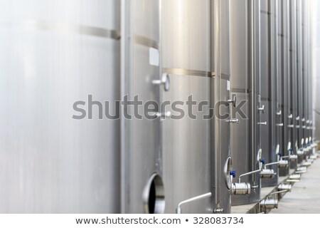 vinho · equipamento · aço · inoxidável · dentro - foto stock © arenacreative