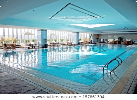 Indoor swimming pool of resort hotel Stock photo © zzve