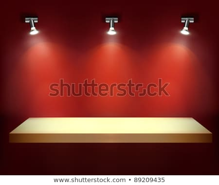 Lighted Wall Display Stock photo © zzve