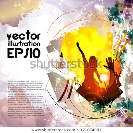 City Music Vector Background Stock photo © mike301