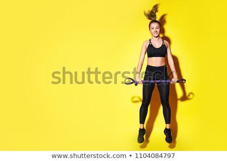 красивой · спортсмена · женщину · фитнес · клуба - Сток-фото © jasminko