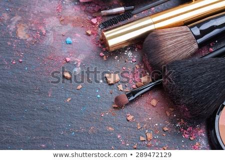 красочный · глаза · Тени · палитра · шаблон · косметических - Сток-фото © pxhidalgo