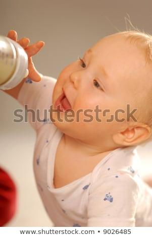 nursling with milk bottle Stock photo © gewoldi