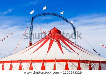 ビッグ 先頭 垂直 サーカス テント ストックフォト © silkenphotography