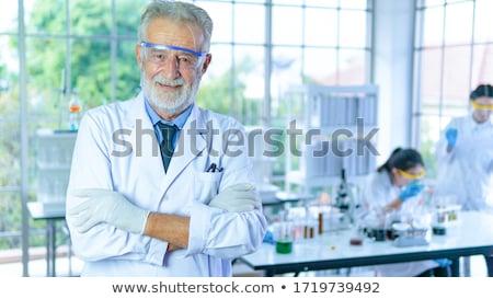 портрет · молодые · привлекательный · мужчины · женщины · врачи - Сток-фото © geribody