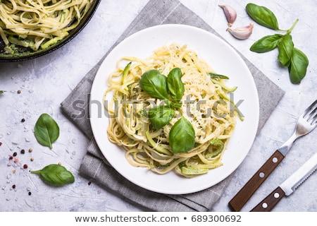 Salat Parmesan Essen Ernährung gesunden Frische Stock foto © M-studio