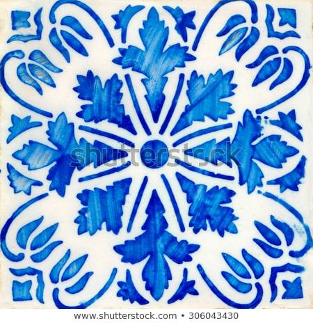 Tradicional azulejos pormenor velho arte Foto stock © homydesign