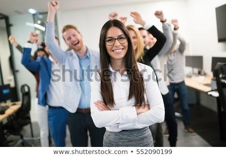 sikeres · üzletember · dollár · érme · arany · kezek - stock fotó © rastudio