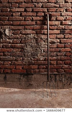Vieux rouge grange Photo stock © njnightsky
