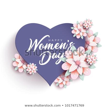 amor · mamãe · cotidiano · calendário · ícone · papel - foto stock © olena