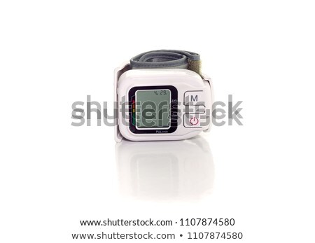 Automatic tonometer isolated on the white background Stock photo © anyunoff