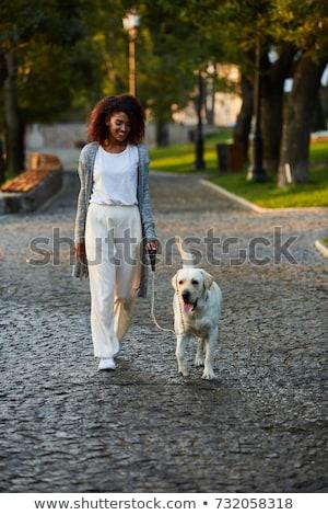 Shot dość zdrowych młodych pani spaceru Zdjęcia stock © deandrobot