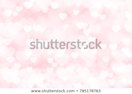 pink hearts background design card design Stock photo © SArts
