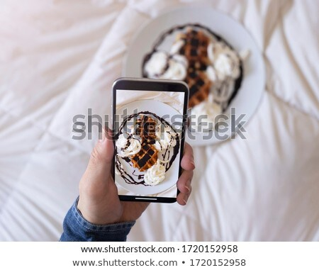 Close up of man's hand taking photo Stock photo © IS2