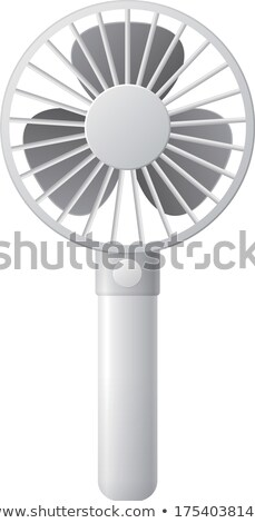 Handheld fan Stock photo © boggy