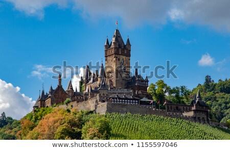 cochem castle germany stock photo © smartin69