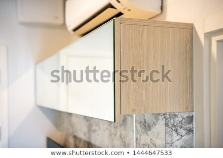 Wall mounted cabinet Stock photo © magraphics