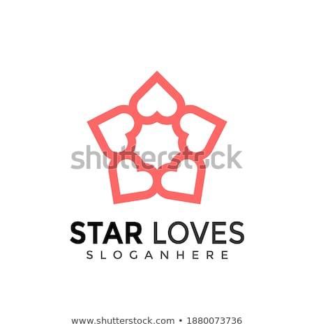 Logotipo colorido estrela ícone símbolo elemento Foto stock © blaskorizov
