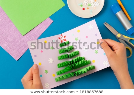 Christmas Holidays, Children Hobbies and Pastime Stock photo © robuart