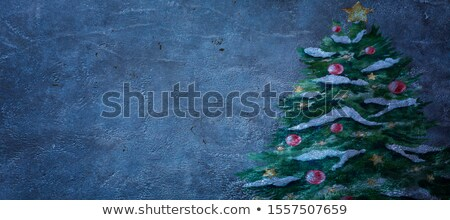 Header Black Wallpaper Ornaments 2020 New Year Stock photo © limbi007