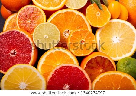 Vers grapefruit voedsel vruchten gezond eten Stockfoto © dolgachov