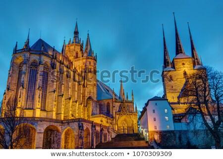 Duitsland stad kerk reizen architectuur geschiedenis Stockfoto © borisb17