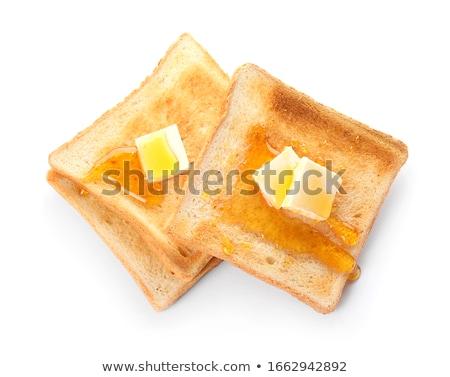 Geïsoleerd witte stukken gepolijst amber top Stockfoto © ThreeArt