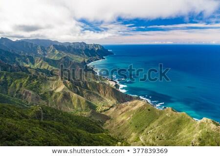 Montagne gamme océan Retour tenerife Photo stock © unkreatives