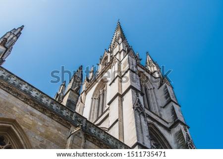 Kathedraal Frankrijk Romeinse katholiek kerk Stockfoto © borisb17