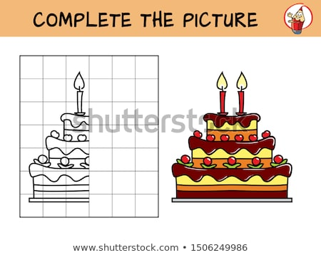 Stock photo: completed cakes