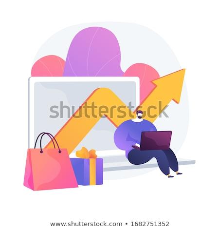 Shopping expenses vector concept metaphor Stock photo © RAStudio